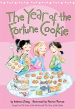 Book cover of YEAR OF THE FORTUNE COOKIE