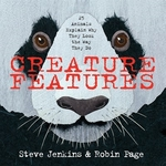 Book cover of CREATURE FEATURES - 25 ANIMALS TELL US W