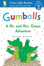 Book cover of GUMBALLS - A MR & MRS GREEN ADVENTURE