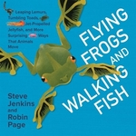 Book cover of FLYING FROGS & WALKING FISH