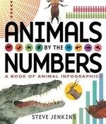 Book cover of ANIMALS BY THE NUMBERS