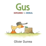 Book cover of GUS EXPLORES HIS WORLD