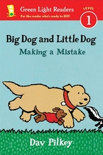 Book cover of BIG DOG & LITTLE DOG MAKING A MISTAKE