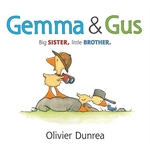 Book cover of GEMMA & GUS BIG SISTER LITTLE BORTHER