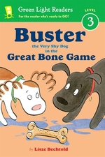 Book cover of BUSTER THE VERY SHY DOG - & THE GREAT BO