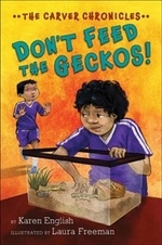 Book cover of DON'T FEED THE GECKOS