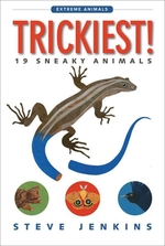 Book cover of TRICKIEST 19 SNEAKY ANIMALS