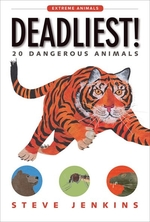 Book cover of DEADLIEST 20 DANGEROUS ANIMALS