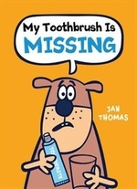 Book cover of MY TOOTHBRUSH IS MISSING