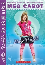 Book cover of ALLIE FINKLE 04 STAGE FRIGHT