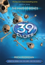 Book cover of 39 CLUES 01 MAZE OF BONES
