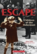 Book cover of ESCAPE CHILDREN OF THE HOLOCAUST