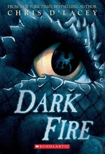 Book cover of LAST DRAGON CHRONICLES 05 DARK FIRE