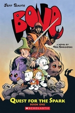 Book cover of BONE QUEST FOR THE SPARK 01