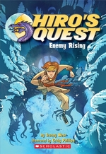 Book cover of HIRO'S QUEST 01 ENEMY RISING