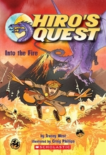 Book cover of HIRO'S QUEST 02 INTO THE FIRE