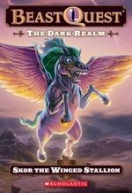 Book cover of BEAST QUEST 14 DARK REALM - SKOR THE WIN