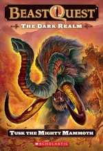 Book cover of BEAST QUEST 17 DARK REALM - TUSK THE MIG