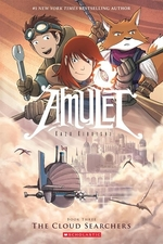 Book cover of AMULET 03 CLOUD SEARCHERS