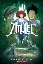 Book cover of AMULET 04 THE LAST COUNCIL