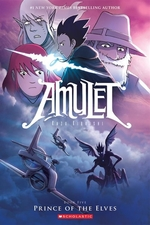 Book cover of AMULET 05 PRINCE OF THE ELVES
