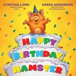 Book cover of HAPPY BIRTHDAY HAMSTER