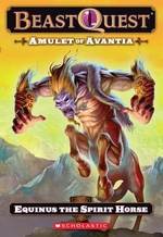 Book cover of BEAST QUEST 20 AMULET OF AVANTIA EQUINUS