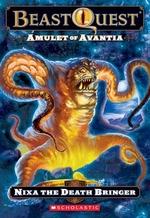 Book cover of BEAST QUEST 19 DARK REALM - NIXA THE DEA