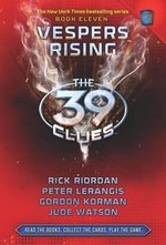 Book cover of 39 CLUES 11 VESPERS RISING
