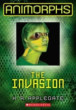 Book cover of ANIMORPHS 01 INVASION