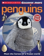 Book cover of DISCOVER MORE - PENGUINS