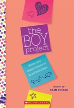Book cover of BOY PROJECT A WISH BOOK