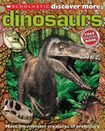 Book cover of DISCOVER MORE - DINOSAURS