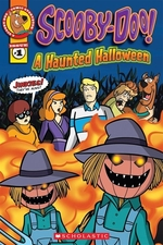Book cover of SCOOBY-DOO A HAUNTED HALLOWEEN