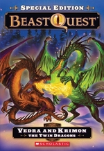 Book cover of BEAST QUEST SPECIAL 02 VEDRA & KRIMON TH