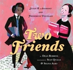 Book cover of 2 FRIENDS SUSAN ANTHONY & F DOUGLASS