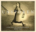 Book cover of UNSPOKEN - A STORY FROM THE UNDERGROUND
