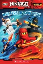 Book cover of LEGO NINJAGO READER 02 MASTERS OF SPINJI
