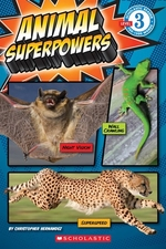 Book cover of ANIMAL SUPERPOWERS