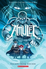 Book cover of AMULET 06 ESCAPE FROM LUCIEN