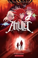 Book cover of AMULET 07 FIRELIGHT