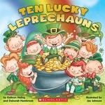 Book cover of 10 LUCKY LEPRECHAUNS