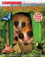 Book cover of DISCOVER MORE - RAINFOREST