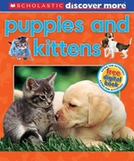 Book cover of DISCOVER MORE - PUPPIES & KITTENS
