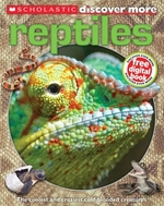 Book cover of DISCOVER MORE REPTILES