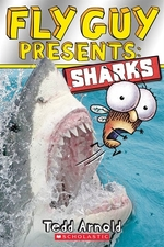Book cover of FLY GUY PRESENTS SHARKS
