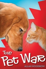 Book cover of PET WAR