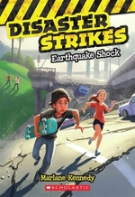 Book cover of DISASTER STRIKES 01 EARTHQUAKE SHOCK