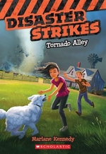 Book cover of DISASTER STRIKES 02 TORNADO ALLEY
