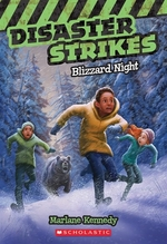 Book cover of DISASTER STRIKES 03 BLIZZARD NIGHT